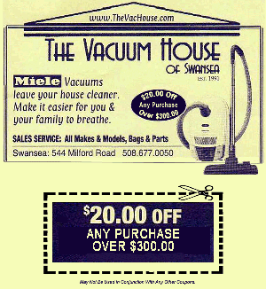 Vacuum House Coupon